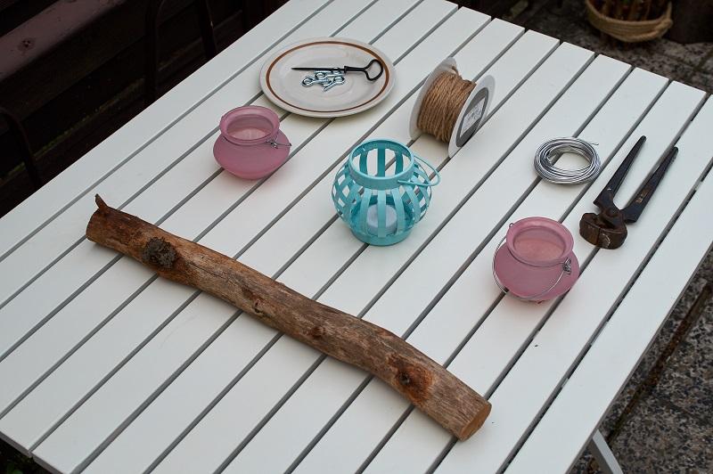 Ast Kronleuchter Teelicht DIY